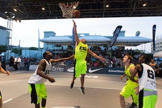 Saskatoon vs NY Staten at the San Juan Masters 10-11 August 2013 FIBA 3x3 World Tour, San Juan, Puerto Rico. Day 2
