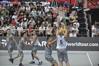 #6 Kyle Matthew, Team Yokohama, 2014 World Tour Beijing, 3x3game, 03 August, Day 2.