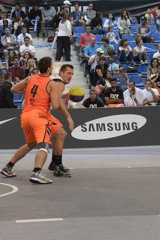 #6 Solujic Aleksandar, Team Belgrade, FIBA 3x3 World Tour Lausanne 2014, day 1, 29. August.