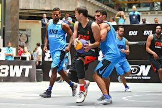 3 Ahmed El-sabbagh (EGY) - 4 Luiz Felipe Soriani (BRA)