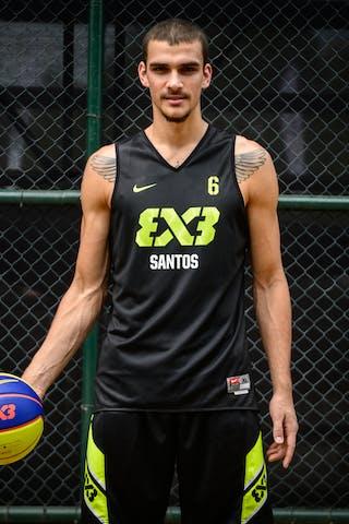 #6 Burger Jordan, Team Santos, FIBA 3x3 World Tour Rio de Janeiro 2014, 27-28 September.