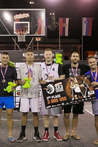 3rd place Belgrade 3x3 Ljubljana Challenger