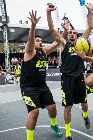 #5 Gusmao Victor, Team Fortaleza, FIBA 3x3 World Tour Rio de Janeiro 2014, Day 2, 28. September.