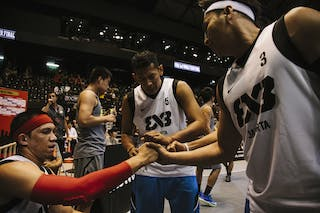Team Jakarta, FIBA 3x3 World Tour Final Tokyo 2014, 11-12 October.