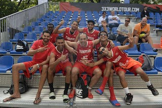 Team La Marsa and Team Monastir, FIBA 3x3 World Tour Lausanne 2014, 29-30 August.