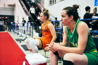 9 Esther Fokke (NED) - 7 Keely Froling (AUS) - Game5_Final_Netherlands vs Australia