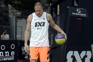 #6 Kaliterna Duje, Team Split, FIBA 3x3 World Tour Lausanne 2014, 29-30 August.