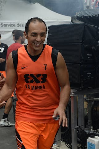 #7 Ben Slimane Issam, Team La Marsa, FIBA 3x3 World Tour Lausanne 2014, Day 1, 29. August.