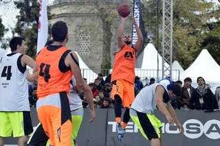 #3 Novi Sad (Serbia) Neuquen (Argentina) 2013 FIBA 3x3 World Tour final in Istanbul