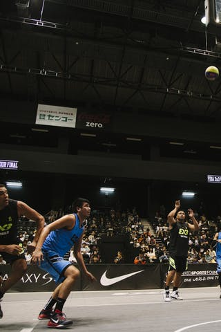 #5 Santos Fabio, Team Sao Paulo, FIBA 3x3 World Tour Final Tokyo 2014, 11-12 October.