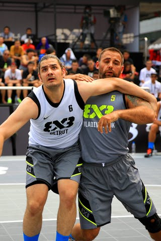 #6 Arnaout Alaa El Din, Team Beirut, FIBA 3x3 World Tour Beijing 2014, 2-3 August.
