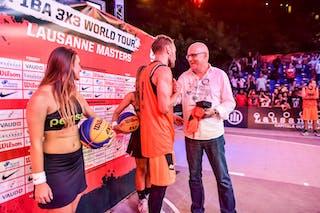 Ovidijus VARANAUSKAS MVP, 2015 WT Lausanne, 29 August 2015