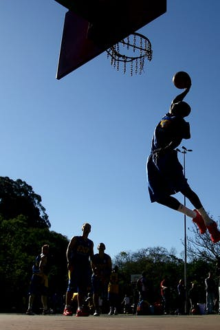 2012 FIBA 3x3 World Tour, Sao Paolo Masters. Brazil. 13 July. Practise at Ibirapuera Parc.