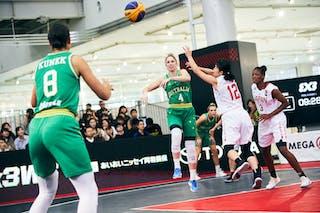 8 Alice Kunek (AUS) - 4 Bec Cole (AUS) - Game1_Pool B_Japan vs Australia