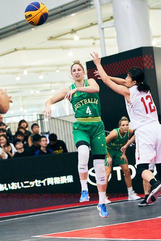 8 Alice Kunek (AUS) - 4 Bec Cole (AUS) - Game1_Pool B_Japan vs Australia