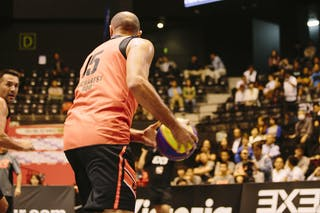 #15 Bogdan Popescu, Team Bucharest, FIBA 3x3 World Tour Final Tokyo 2014, 11-12 October.