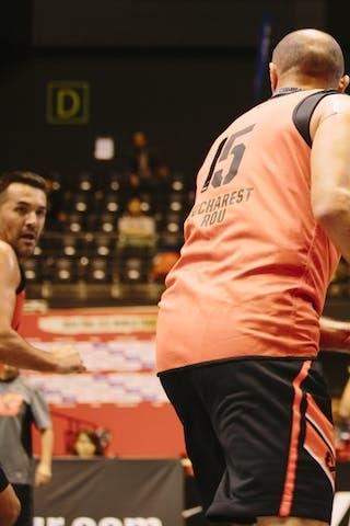#15 Bogdan Popescu, Team Bucharest, FIBA 3x3 World Tour Final Tokyo 2014, 11-12 October.