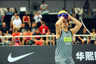 #6 Arnaout Alla El Din, Team Beirut, 2014 World Tour Beijing, 3x3game, 03 August, Day 2.