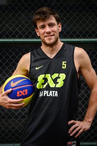 #5 Borchenn Basilio, Team La Plata, FIBA 3x3 World Tour Rio de Janeiro 2014, 27-28 September.