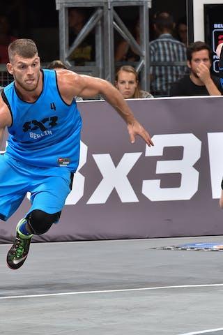 4 Fabian Ristau (GER) - Belgrade v Berlin, 2016 WT Debrecen, Pool, 7 September 2016