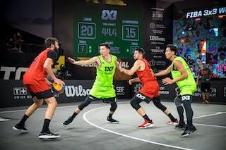 5 Aleksandar Ratkov (SRB) - 6 Stefan Kojic (SRB)