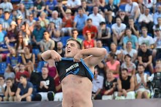 6 Nebojsa Boskovic (SRB) - Belgrade v Budapest, 2016 WT Debrecen, Last 8, 8 September 2016