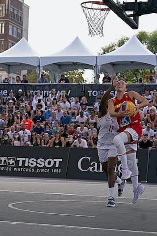 FIBA 3x3, World Tour 2021, Mtl, Can, Esplanade Place des ArtsWS Semi-Final 2- CANADA vs. Spain