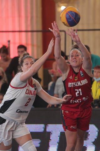 2 Katherine Plouffe (CAN) - 21 Svenja Brunckhorst (GER)