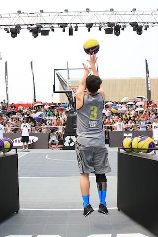#3 Do Young Kim, Team Seoul, shoot-out contest, 2014 World Tour Beijing, 3x3game, 2-3 August.