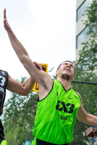 3 Mihailo Vasic (SRB) - 3 Michael Linklater (CAN)