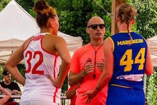 44 Gabriela Marginean (ROU) - 32 Malak Ezzakraoui (SUI)