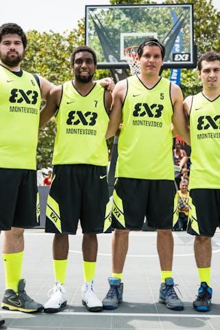Team Montevideo, FIBA 3x3 World Tour Rio de Janeiro 2014, Day 2, 28. September.