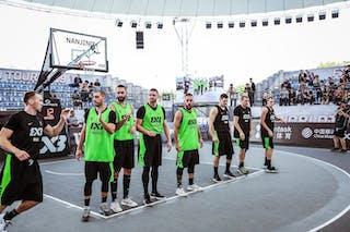7 Artūrs Strēlnieks (LAT) - 6 Edgars Krumins (LAT) - 5 Agnis čavars (LAT) - 3 Nauris Miezis (LAT) - 6 Dusan Bulut (SRB) - 5 Dejan Majstorovic (SRB) - 3 Marko Zdero (SRB) - 4 Marko Savić (SRB)
