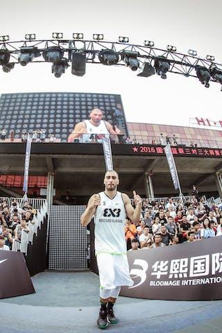 3 Dusan Domovic Bulut (UAE) - Novi Sad AlWahda v Zheng Zhou, 2016 WT Beijing, Pool, 16 September 2016