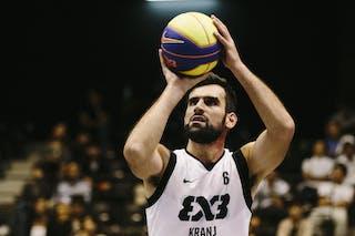 #6 Julevic Mensud, Team Kranj, FIBA 3x3 World Tour Final Tokyo 2014, 11-12 October.