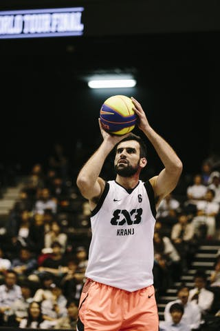 #6 Julevic Mensud, Team Kranj, FIBA 3x3 World Tour Final Tokyo 2014, 11-12 October.