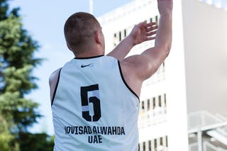5 Marko Savić (UAE) - Novi Sad Al Wahda v Doha, 2016 WT Utsunomiya, Pool, 30 July 2016