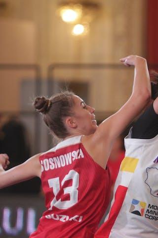 13 Klaudia Sosnowska (POL) - 13 Khulan Onolbaatar (MGL)