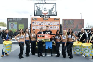 Dunk contest winner at the 2013 FIBA 3x3 World Tour final in Istanbul