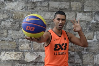 #4 Bousetta Slim, La Marsa, FIBA 3x3 World Tour Lausanne 2014, 29-30 August.