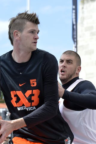 The 2.17m Blaž 'Birdman' Črešnar (Brezovica) was unstoppable at the FIBA 3x3 World Tour Final. Will anyone manage to shut him down at the FIBA 3x3 All Stars?