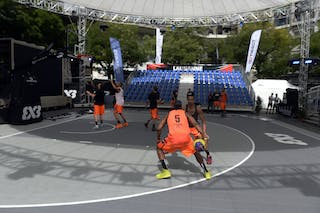 #5 Godfrey Phil, Team Marburg, FIBA 3x3 World Tour Lausanne 2014, 29-30 August.