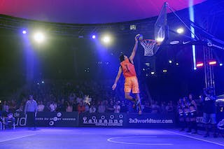 Dunk contest, FIBA 3x3 World Tour Lausanne 2014, Day 1, 29. August.