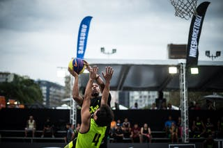 #7 Rodriguez Carlos, Team Guaira, FIBA 3x3 World Tour Rio de Janeiro 2014, 27-28 September.