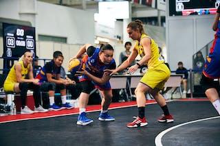 11 Gabriela Irimia (ROU) - 9 Ganzul Davaasuren (MGL) - Game4_Pool A_Romania vs Mongolia