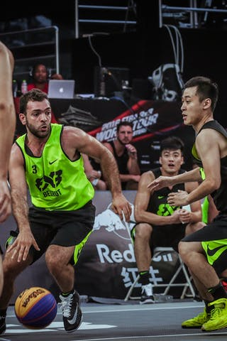 3 Constantin Kodsi (LIB) - Beirut v Jinan, 2016 WT Beijing, Pool, 16 September 2016