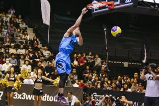 #4 Guevarra Rey Francis, Team Manila West, dunk contest, FIBA 3x3 World Tour Final Tokyo 2014, 11-12 October.