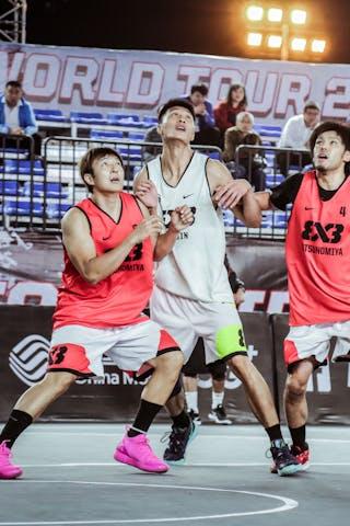 6 Daisuke Kobayashi (JPN) - 5 Dušan Popović (JPN) - 4 Yosuke Saito (JPN)