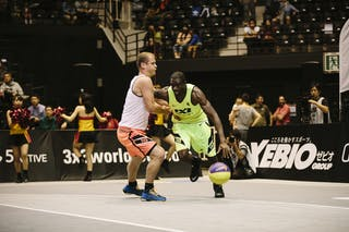 #4 Gordon O'Neil, Team Saskatoon, FIBA 3x3 World Tour Final Tokyo 2014, 11-12 October.