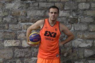 #6 Kavgic Adin, Team Trbovlje, FIBA 3x3 World Tour Lausanne 2014, 29-30 August.
